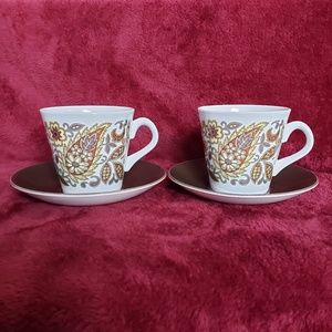 Other - VINTAGE CROWN CLARENCE Ironstone Cup and Saucer